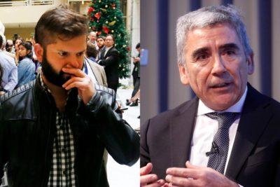 """""""Es un simple adolescente"""": Carlos Peña analiza a Gabriel Boric y la polémica por la polera con imagen de Jaime Guzmán"""