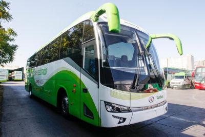 Así es el primer bus interurbano 100% eléctrico que cubrirá ruta Santiago-Rancagua