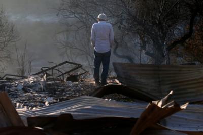 Coordinan ayuda para víctimas de incendio en Limache