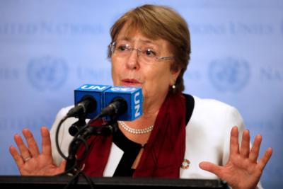 """UDI conmina a Bachelet a """"revisar con lupa"""" los derechos humanos en Venezuela"""