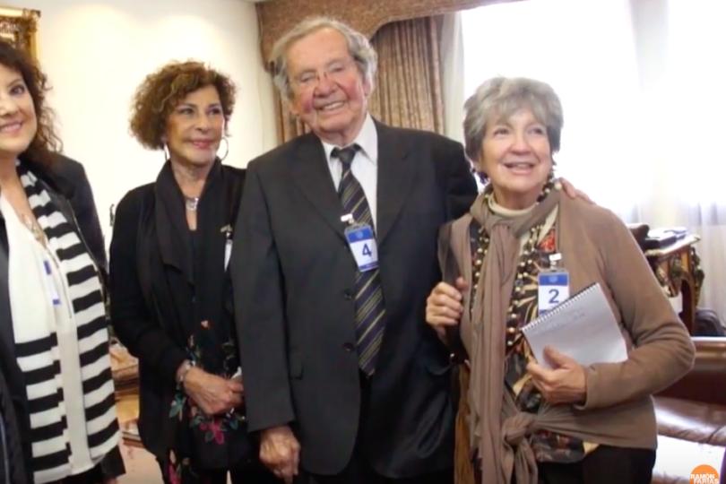 A los 89 años murió Humberto Duvauchelle ícono del teatro chileno