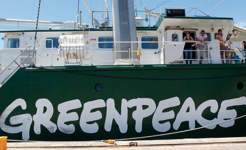 Tras alza de emisiones de C02, Greenpeace pide detener uso de carbón en Chile