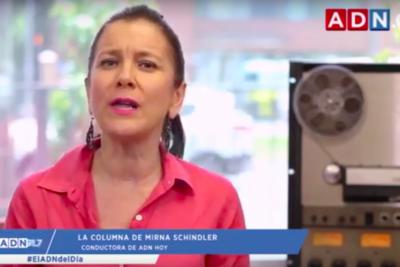 """""""¿Qué es peor?"""": Mirna Schindler implacable con diputada Santibáñez por frase sobre Jaime Guzmán"""