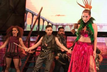 """Elenco de Piratas del Caribe """"saltó del escenario"""" por temblor en La Serena"""
