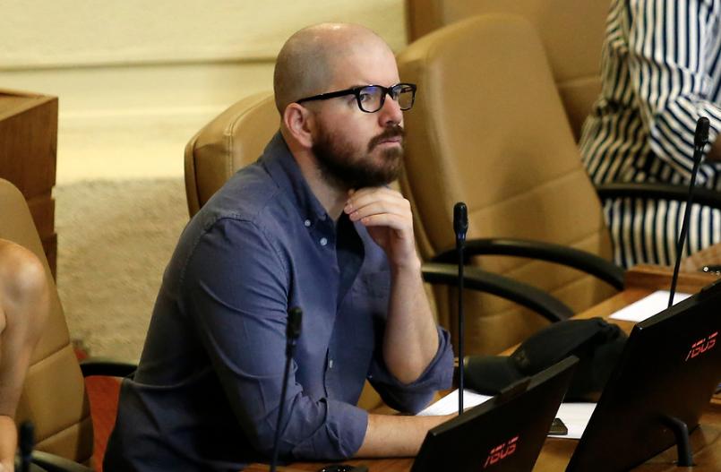 """Giorgio Jackson y candidatura de Javiera Parada: """"Me temo que RD pierda liderazgo dentro del Frente Amplio como interlocutor"""""""