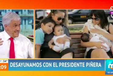 """Piñera: """"Antes se decían cosas que no se debían decir, hoy se están prohibiendo cosas que sí se deberían decir"""""""