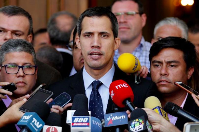 """Juan Guaidó pidió a Bachelet conocer la situación de Venezuela """"sin ideologías"""""""