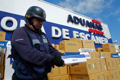 Decomisan contrabando de cigarros por $300 millones en región del Biobío