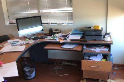 Desalojo de la municipalidad de Collipulli deja un saldo de 12 detenidos