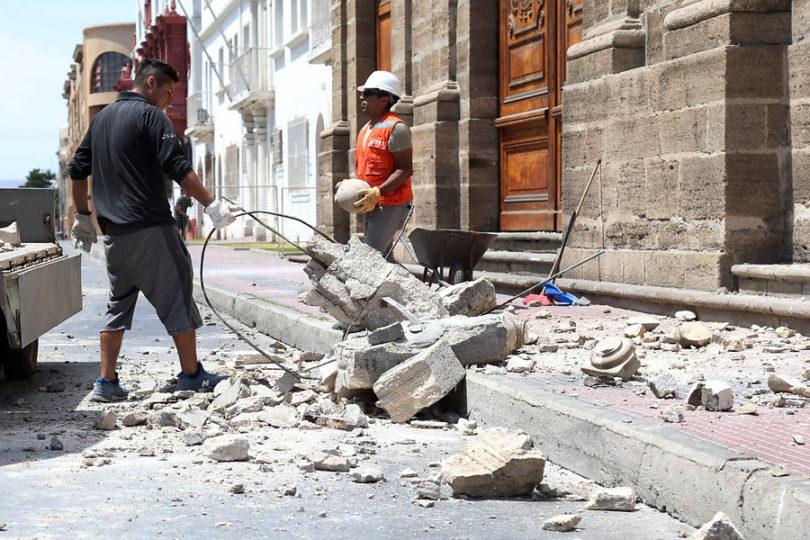 """Piñera a los afectados por sismo en Coquimbo: """"No los vamos a dejar solos"""""""
