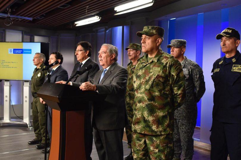 Gobierno de Colombia culpa al ELN por el atentado en Colombia