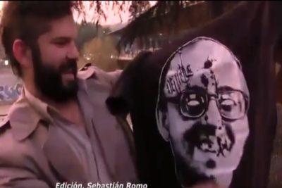 """""""Tu salud anda mal"""": Iván Moreira pone el grito en el cielo contra Boric por polera de Jaime Guzmán"""