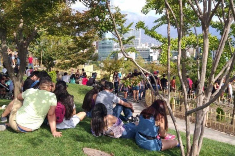 El choque de culturas en el Jardín Japonés