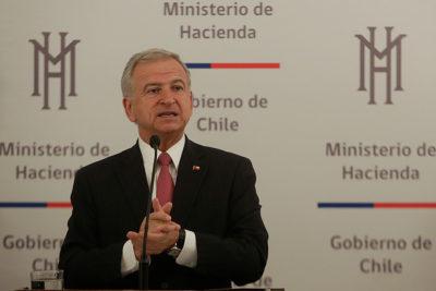 Felipe Larraín es reconocido como el Ministro de Hacienda del año por The Banker