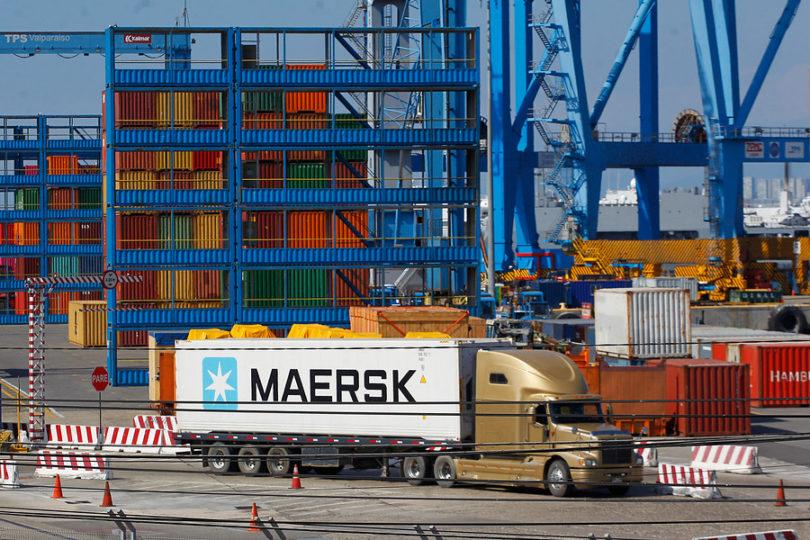 Parte de los ex trabajadores de Maersk podrán trabajar en faenas portuarias