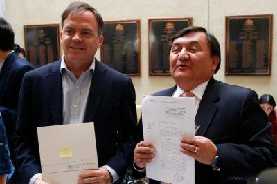 """Bancada DC anuncia rechazo a la idea de legislar el proyecto """"Admisión Justa"""""""