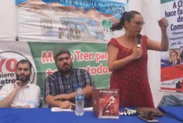 """Marisela Santibáñez y polera de Jaime Guzmán: """"¡Bien muerto el perro!"""""""