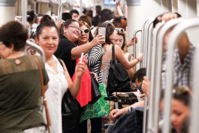 Positivo balance: Línea 3 del Metro movilizó 800.000 personas en primera semana