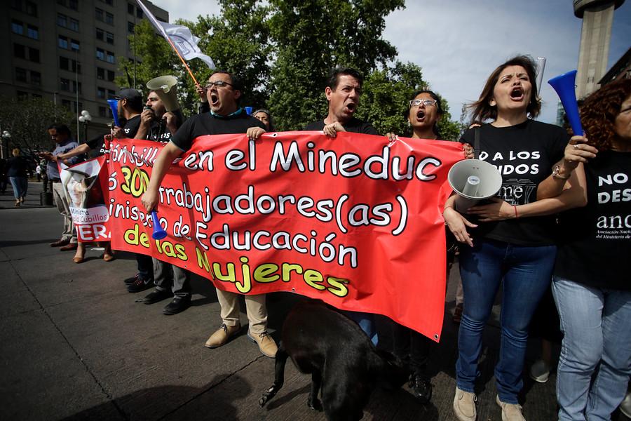 """""""Aula Segura, Admisión Justa y más: funcionarios Mineduc piden rectificar políticas del Gobierno en educación"""""""