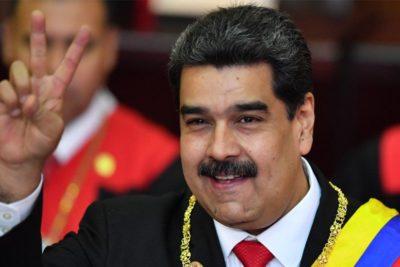 """Nicolás Maduro en acto de FF.AA.: """"Fui al futuro, volví y vi que todo sale bien"""""""