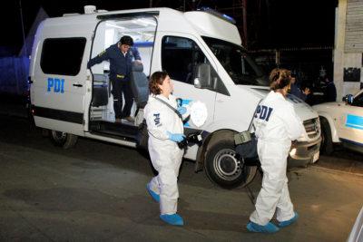 """PDI busca a menor que mató a un hombre a escopetazos por """"ajuste de cuentas"""" en Pudahuel"""