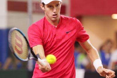 Nicolás Jarry será el encargado de abrir la serie de Copa Davis ante Austria