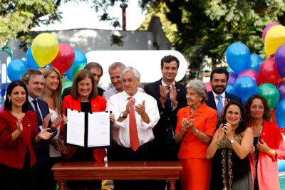 Piñera compromete más recursos en subvenciones a colaboradores del Sename