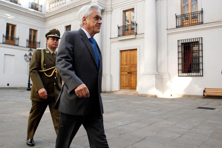 """""""Piñera viajará en la tarde a Región de Coquimbo por el temblor"""""""