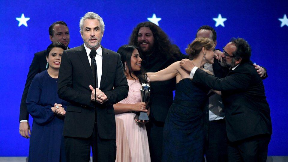 """""""Roma arrasa en los premios Critics Choice y pisa fuerte hacia el Oscar"""""""