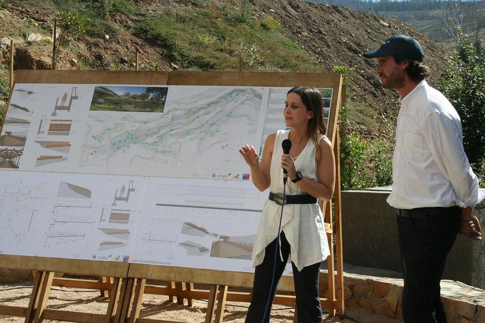 """""""Segundo aniversario de incendios forestales: presentan avances en reconstrucción de Santa Olga"""""""