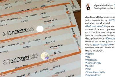 Diputados se suman a la fiebre del K-pop y regalan entradas para festival en Estadio Nacional