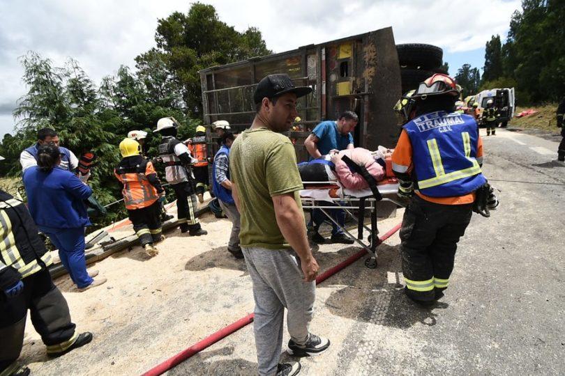 En riesgo vital sigue uno de los lesionados que dejó mortal accidente de Máfil