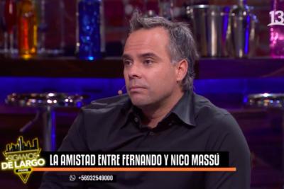 """Comentado """"match point"""" de Fernando González contra el Chino Ríos por sus constantes polémicas con la prensa"""