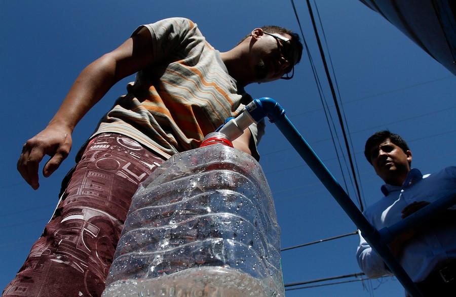 """""""Interponen recurso de protección contra Aguas Antofagasta por crisis en Calama"""""""
