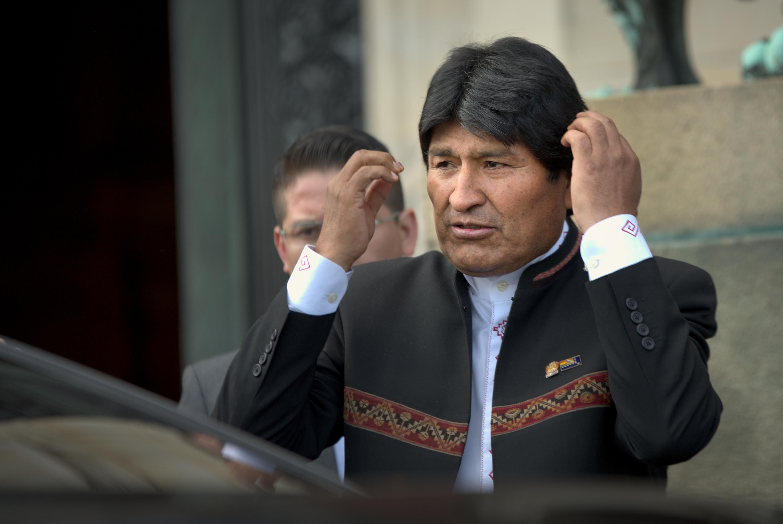 """""""Evo Morales acusa que ayuda humanitaria es un"""