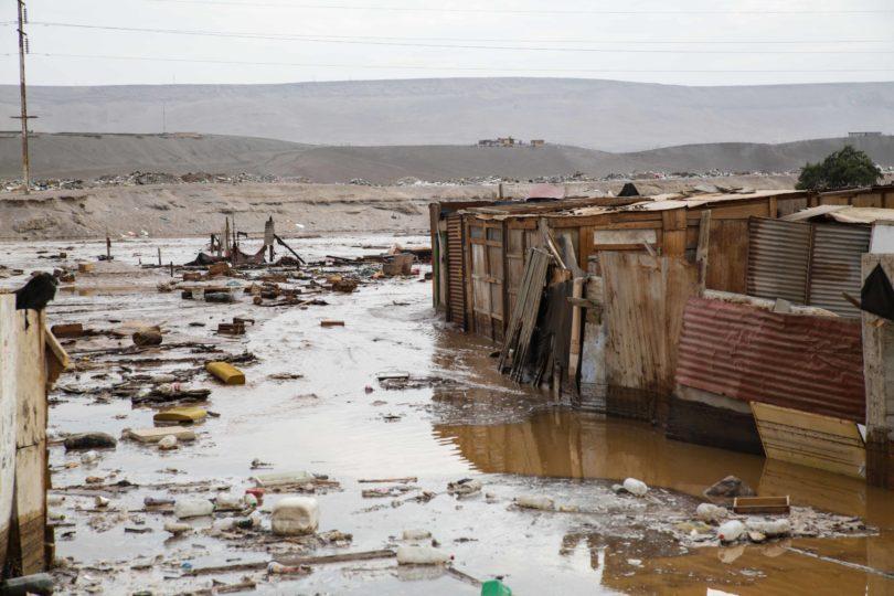 Desbordes en Arica: hallan cadáver en zona del río Acha