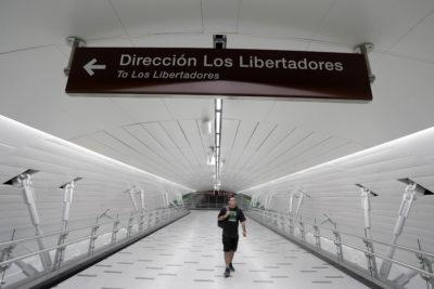 Estación de Quilicura de Línea 3 del Metro sigue con problemas a un mes de su debut