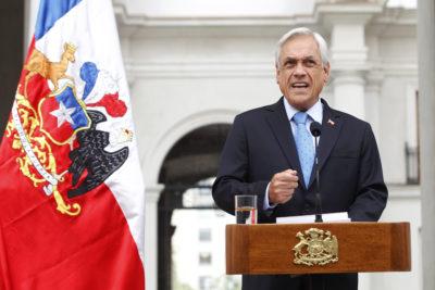 """Piñera vuelve a emplazar a Michelle Bachelet por crisis en Venezuela: """"Llegó el tiempo de la acción y las soluciones"""""""