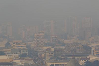 Por incendios forestales: Talcahuano tiene la peor calidad de aire en Chile