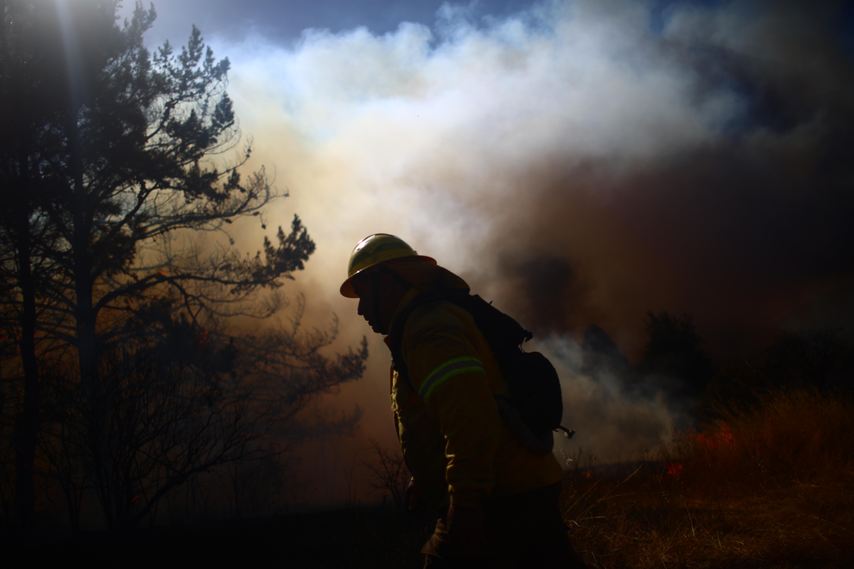"""""""Conaf reporta 16 incendios activos durante este viernes"""""""