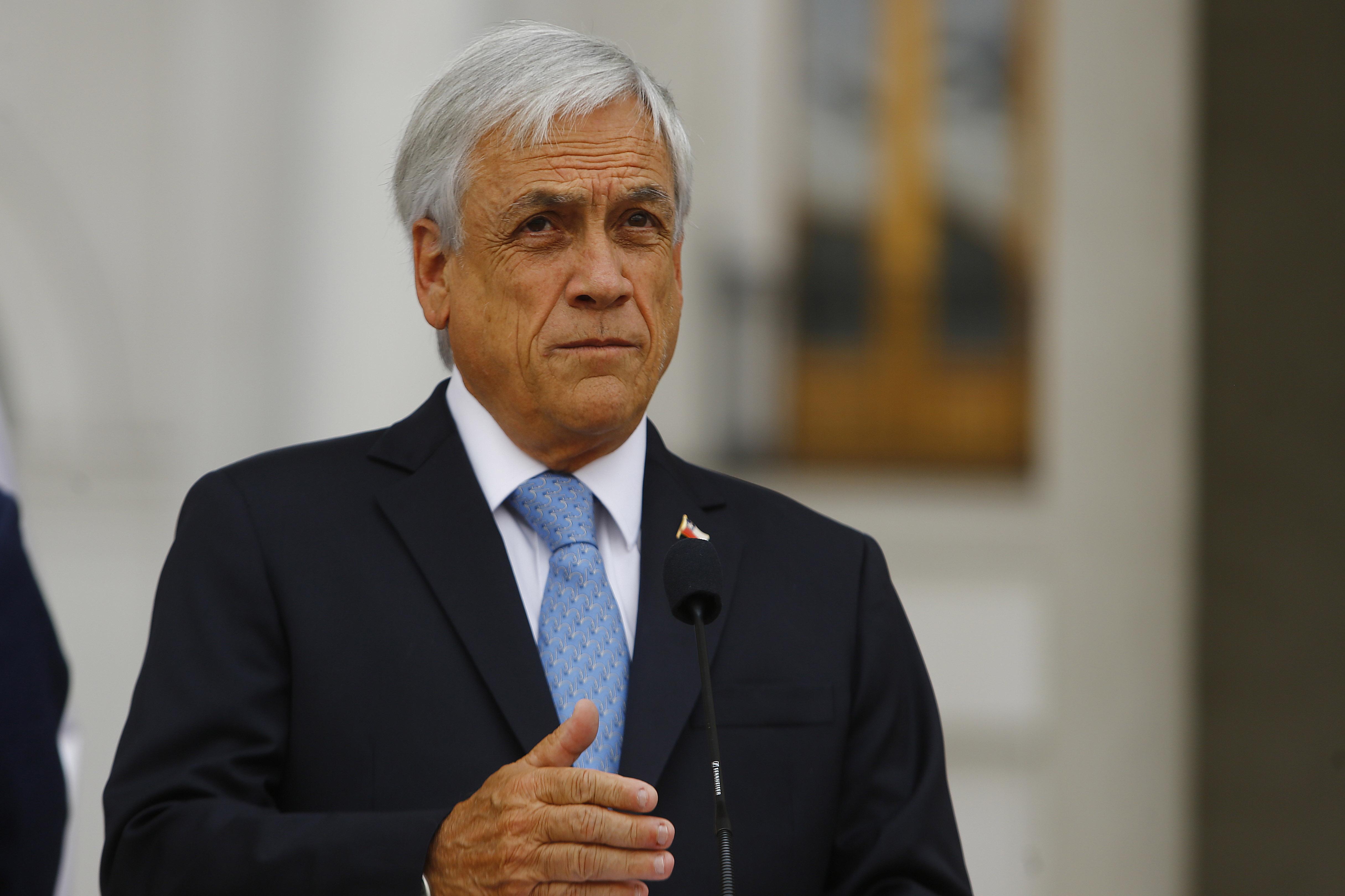 """""""Sebastián Piñera ahora explica en Twitter su viaje a Cúcuta:"""