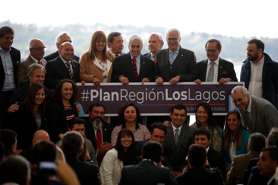 """""""Presidente Piñera presenta el Plan de Desarrollo Regional de Los Lagos"""""""