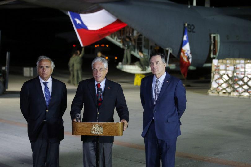 """Presidente Piñera por ayuda humanitaria: """"Es un compromiso moral de solidaridad"""""""