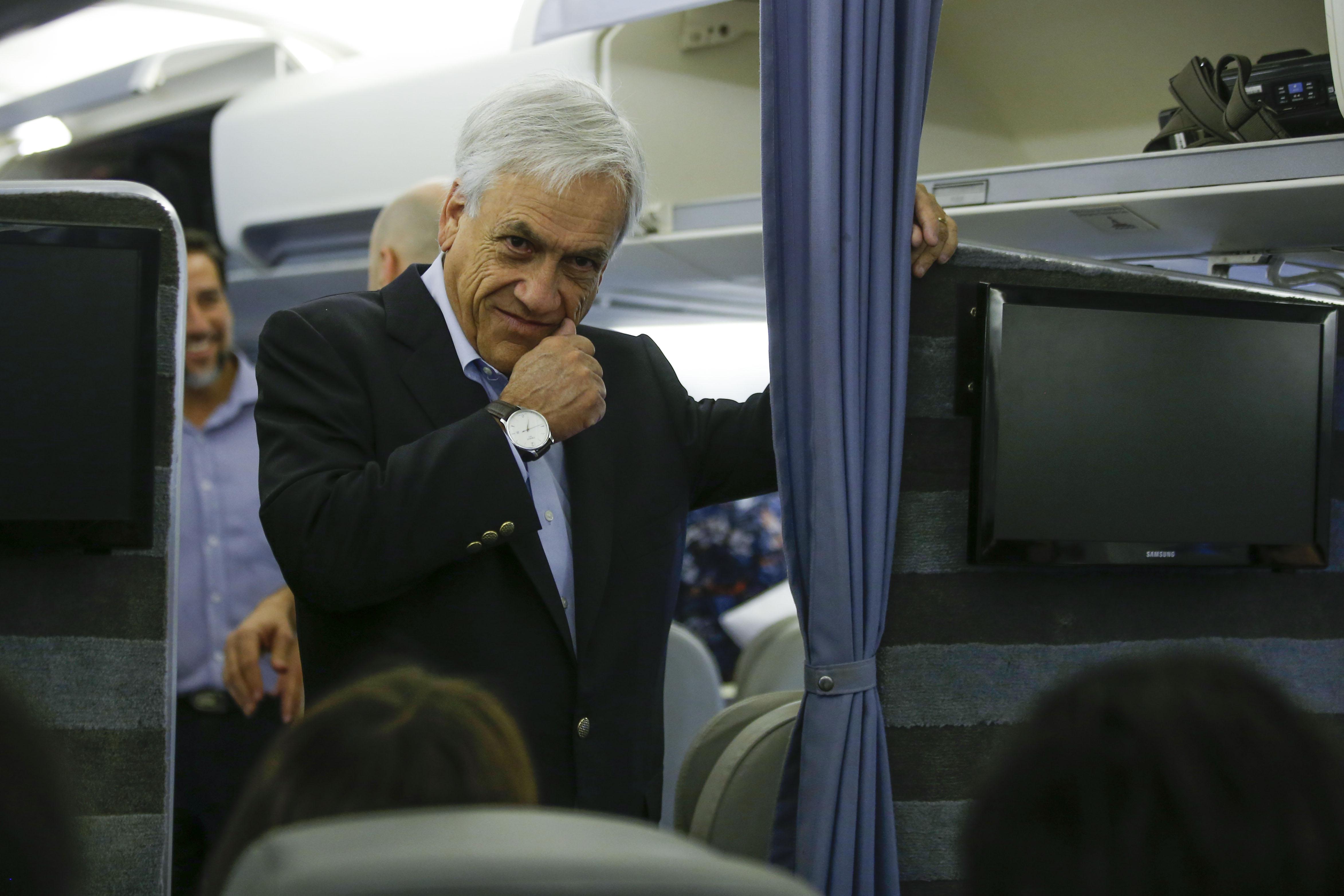 """""""Informan problemas en avión que trasladaba a Piñera hasta Cúcuta"""""""