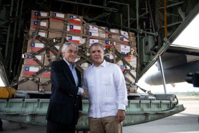 """Piñera tras su arribo a Cúcuta: """"Todos sabemos que el gobierno de Maduro no es democrático"""""""