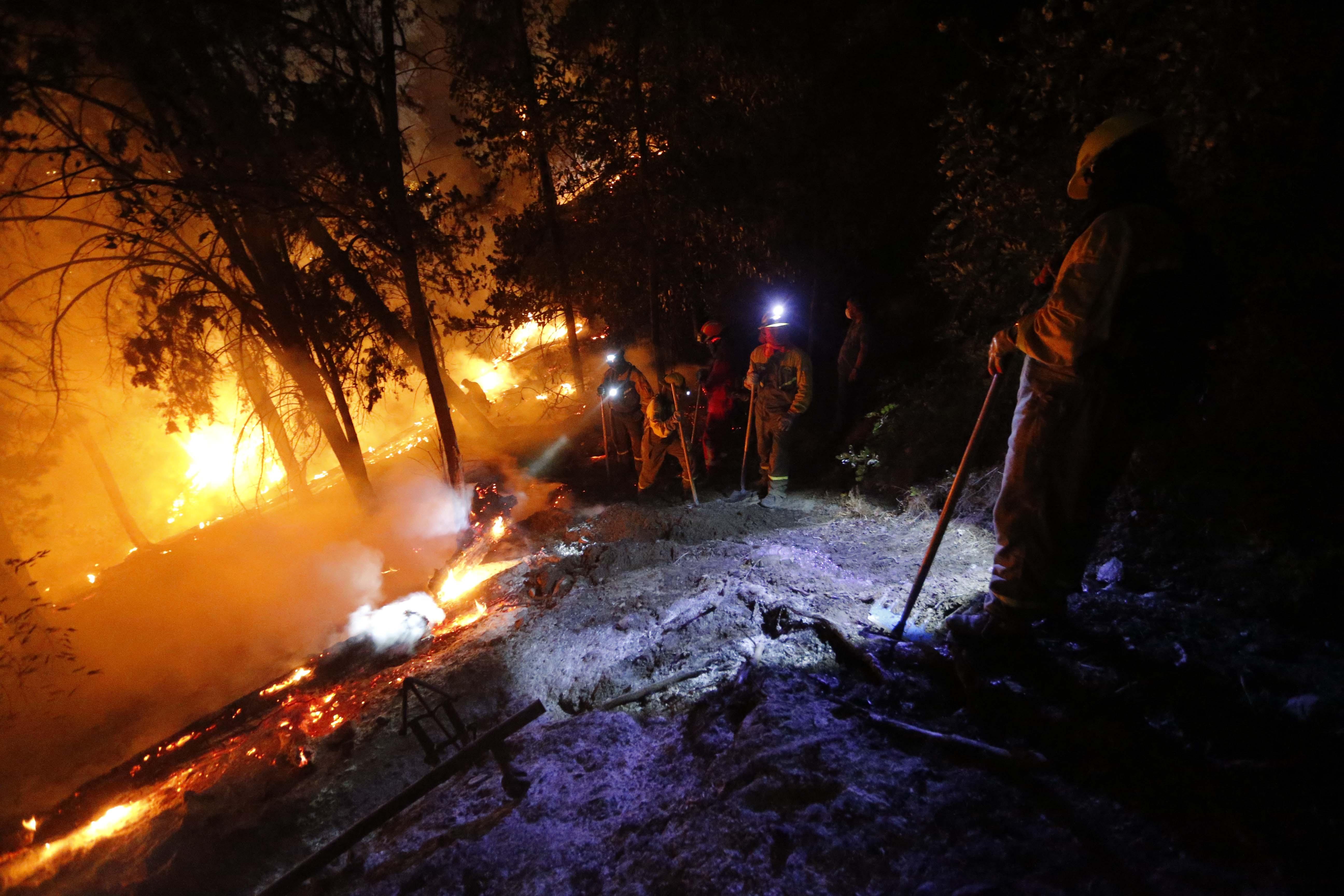 """""""Incendio en el San Cristóbal está controlado: Intendencia anunció querella"""""""