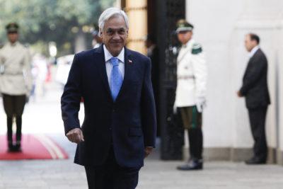 Presidente Piñera prepara gira a tres regiones del sur