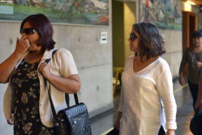 Imputadas por agresión al presidente del TC quedaron con prohibición de acercamiento