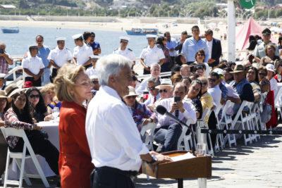 """La broma de Piñera en el sur: """"No me diga lo que tengo que hacer"""""""