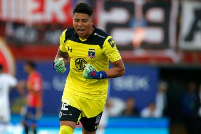 Brayan Cortés no quiere soltar la titularidad en el arco de Colo Colo